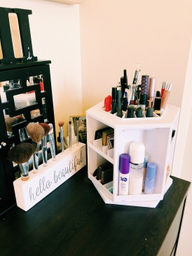 I Love Organizing My Makeup so I can See Everything at Once!