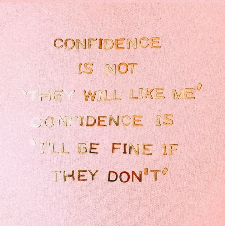 I Asked For Your Thoughts On Confidence: Here's WhatHappened